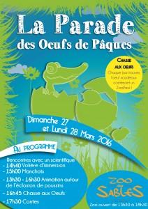 programme La parade des oeufs de Pâques
