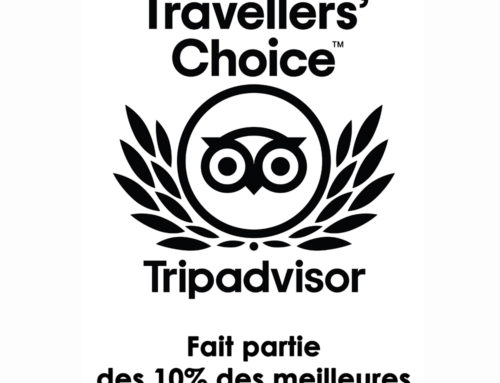 Prix Tripadvisor Traveller's Choice 2020
