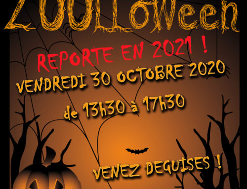 ZOOLLOWEEN, Friday 30th October 2020 – Postponed to 2021 !